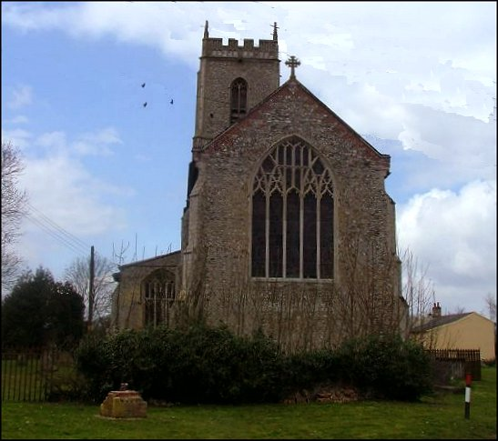 Brisley: giant Norfolk Perpendicular