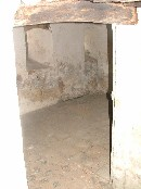 the crypt from the stairs