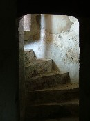 stairway up from the crypt