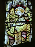 medieval angel musician (East Barsham)